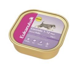 ЭУКАНУБА консервы для щенков (Alutray Puppy Chicken), 150гр. (10216)
