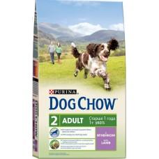 Dog Chow сухой корм для собак с ягненком и рисом (Adult Lamb)
