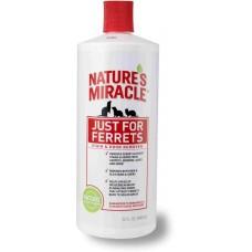 Nature's Miracle Уничтожитель пятен и запахов, оставленных хорьками (Ferrets Stain&Odor Remover), 946мл