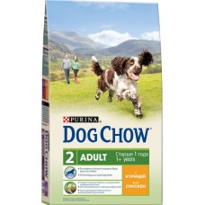 Dog Chow сухой корм для взрослых собак с курицей (Adult Chicken)