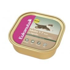 ЭУКАНУБА консервы для взрослых собак (Alutray Adult Chicken), 150гр. (10215)