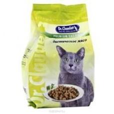Dr. Clauder корм для кошек диетическое мясо