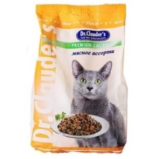Dr. Clauder корм для кошек мясное ассорти