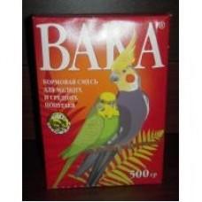 Вака Корм для мелких и средних попугаев 500 гр. (50129)