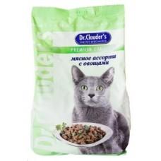 Dr. Clauder корм для кошек мясное ассорти с овощами