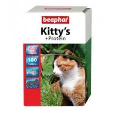 Beaphar Kitty's протеин витамины для кошек.