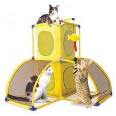 "Kitty City Игровой комплекс для кошек: Версаль. ""Kitty Play Palace"": 70*70*70см (sp0364) (23056)"