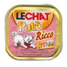 Лешат  консервы для кошек с кусочками Тунца 100гр. (08242)