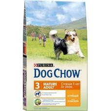 Dog Chow сухой корм для собак старше 5 лет с курицей (Mature Adult)