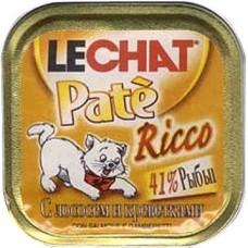 Лешат консервы для кошек с Лососем и Креветками 100гр. (08112)