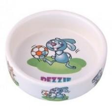 Dezzie Миска керамическая  для грызунов, 110мл, 8,5*3см  (P31272)