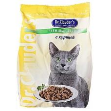 Dr. Clauder корм для кошек с курицей