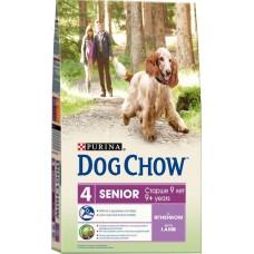 Dog Chow сухой корм для собак старше 9 лет с ягненком (Senior)