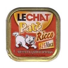 Лешат консервы для кошек с Мясом и Куриной печенью 100гр. (08211)
