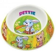 """Dezzie Миска """"Вкусный обед"""" для грызунов, 100мл, 12*12*4см, пластик (5619001) (P45113)"""