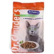 Dr. Clauder корм для кошек с печенью и индейкой
