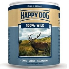 Хэппи Дог консервы для собак мясо дичь, 400 гр (10155)