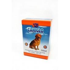 Канигло витаминизированная пищевая добавка с рыбьим жиром для собак, 200мл. (12822)