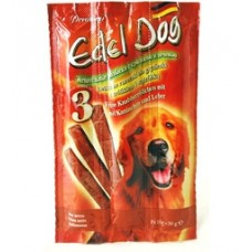 Edel Dog для собак лакомство колбаски кролик/печень 3шт. (26883)