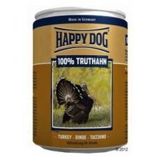 Хэппи Дог консервы для собак мясо индейки, 400гр. (10190)