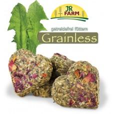 JR FARM Grainless Лакомство беззерновое для грызунов Сердце с лепестками роз, 90г. (13579)