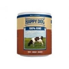 Хэппи Дог консервы для собак мясо говядины, 400 гр.  (10145)