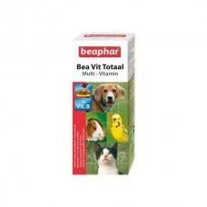Beaphar Bea Vit Totaal Комплекс витаминов для кошек, собак, птиц, грызунов, 50мл. (12620)