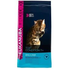 Eukanuba Корм для пожилых кошек от 7 лет c курицей  (Adult Top Condition 7+)