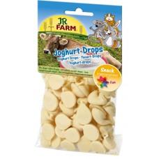 JR FARM Лакомство для грызунов Драже с йогуртом, 75г. (08387)