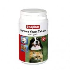 Beaphar Brewers Yeast&Garlic Витамины для собак и кошек с пивными дрожжами и чесноком, 250 таб. (12664)