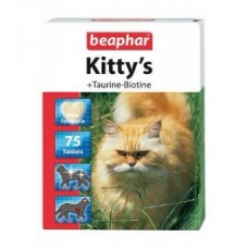 Beaphar Kitty's таурин/биотин, витамины для кошек.