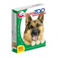 Доктор ЗОО мультивитаминное лакомство для собак, 90 таб.