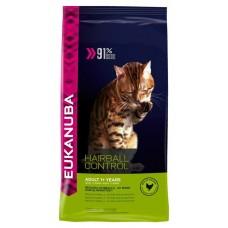 Eukanuba Корм для взрослых кошек для кошек вывод шерсти (Adult Hairball Control)