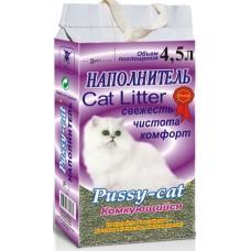 Pussy-cat Наполнитель комкующийся (фиолетовый)