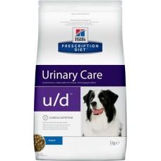 Hill's Prescription Diet Canine U/D лечение МКБ и заболеваний почек, 5кг (C99882)