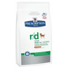 Хиллс R/D сухой корм для собак,  для лечения ожирения, 1.5кг (12044)