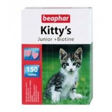 Beaphar Kitty's Юниор, витамины для котят.
