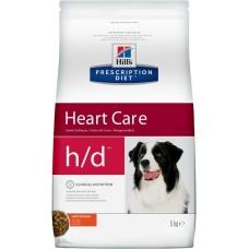 Hill's Prescription Diet H/D Canine при заболеваниях сердца, 5кг (C99886)