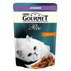 Gourmet Perl для кошек кусочки ягненка в подливке, 85г (23485)