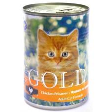 """Nero Gold Консервы для кошек """"Фрикасе из курицы"""" (Chicken Fricassee) 410г"""
