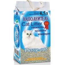 """Pussy-cat Наполнитель впитывающий """"Цеолит"""" (голубой)"""