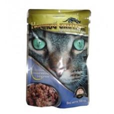 Ночной охотник консервы для кошек курица желе, 100 гр. (07652)