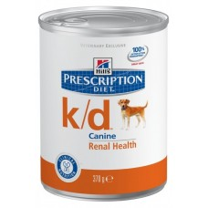 Hill's Prescription Diet K/D консервы для поддержания здоровья собак с заболеваниями почек, 370г (C11149)
