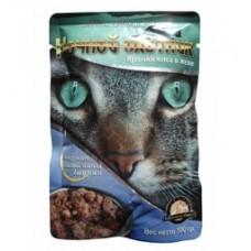 Ночной охотник консервы для кошек лосось судак тунец в желе, 100 гр. (52569)