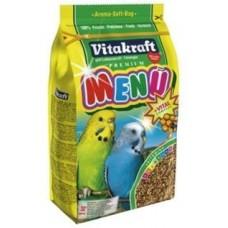 Витакрафт MENU VITAL Корм основной для волнистых попугаев