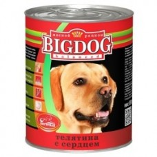 "Зоогурман консервы для собак ""Big Dog"" Телятина с сердцем 850гр. (38484)"