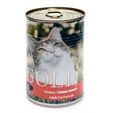 """Nero Gold Консервы для кошек """"Свежая оленина"""" (Venison) 410г"""