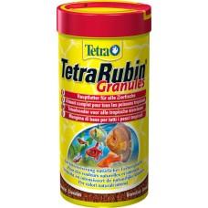 Тетра 139800 TetraRubin Granules Корм для усиления естественной окраски рыб, гранулы 250мл