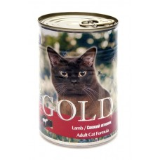 """Nero Gold Консервы для кошек """"Свежий ягненок"""" (Lamb) 410г"""
