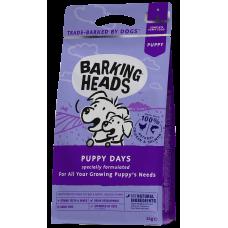 """Barking Heads PUPPY DAYS FOR LARGE BREED PAPPIES для щенков Крупных пород с курицей, лососем и рисом """"Щенячьи деньки"""""""